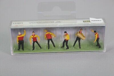 ZM067 FALLER 151071 Personnage Train Ho DHL Ouvrier Transport Workers Diorama • 9.99€