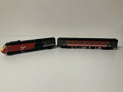 Hornby R2045 Class 43 Dummy Power Car Comes With 1 Coach • 1.13€