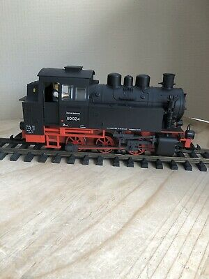 PIKO (37200) DR III BR80 Black & Red Steam Locomotive - Boxed • 167€