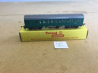 Triang TT Coach T.131 Boxed Suburban Brake 2nd With Seats Excellent Lot 2 • 10.13€