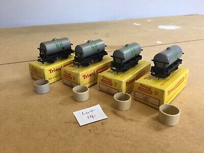 Triang TT Excellent Lot 14 X4 T.73 Shell BP Oil Tankers • 27€