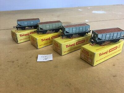Triang TT Excellent Lot 18 T.271 X4 Ore Wagon With Bauxite Load Boxed • 33.75€