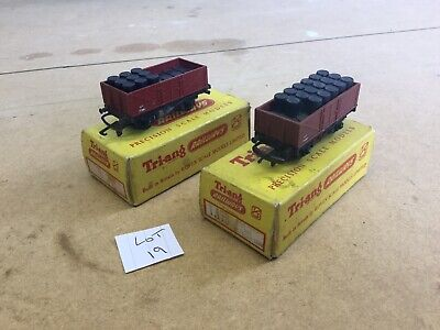 Triang TT Excellent Lot 19 T.178 X2 Open Truck With Oil Drum Load Boxed • 13.50€