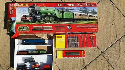 Hornby Flying Scotsman Electric Train Set With Extension Pack And Extra Trains. • 96.69€