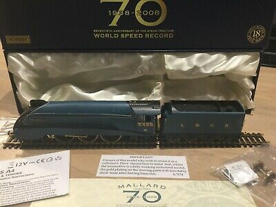 Hornby Mallard Limited Edition Gold Plated Metal Parts Boxed • 200.07€