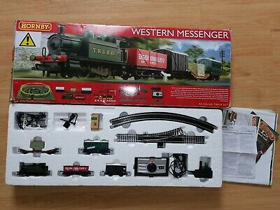 Hornby Western Messenger R1142 00 Guage Train Set Boxed Used Locomotive • 16.13€