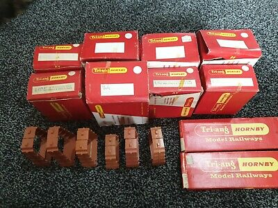 Triang Hornby Elevated Inclined Track Piers & Hand Operated Points Joblot Boxed • 56.24€