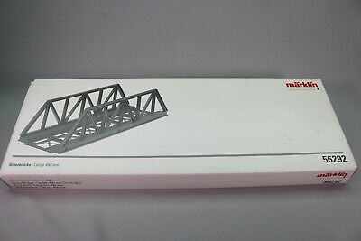 ZS112 MARKLIN Train 1 56292 Pont Droit Truss Bridge Gitterbrücke 45 Cm • 89€