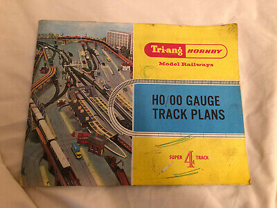 Triang Hornby H0/00 Track Plans Super 4 Track Booklet With Fold Out Plans • 11.25€