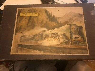 Vintage Karl Bub Tinplate Electric Train Set Working In Good Condition In Box • 135€
