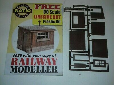 Ratio Plastic Models, OO Scale, Lineside Hut Plastic Kit. • 4.49€