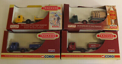 Trackside 00 Gauge Boxed Vehicles - 4 Scammell Scarabs -  Lot 2 • 28.08€