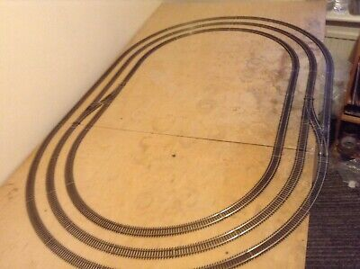 Hornby Oo Track Large Collection Of Nickel Silver Track Makes Triple Loop • 109.83€