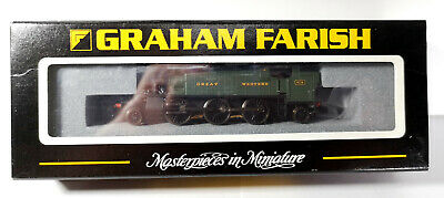 Graham Farish N Gauge 61XX Large Prairie Tank Great Western 6116 Green  • 57.79€