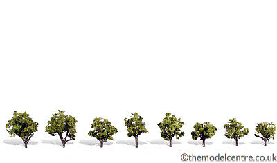 TR3545 Woodland Scenics Early Light 8 Pack 3/4  - 1 1/4  Ready Made Trees TMC • 15.72€