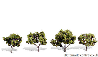 TR3503 Woodland Scenics Early Light 4 Pack 2  - 3  Ready Made Trees TMC • 15.72€