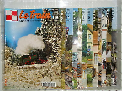 Revue LE TRAIN 1997 Annee Complete (locomotive Wagon Décor Alimentation DCC) • 15€