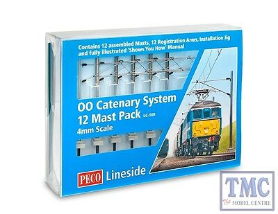 LC-100 Peco OO Gauge Catenary System Startup Pack • 107.22€
