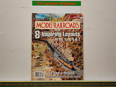 Livre MODEL RAILROADER - Great Model Railroads 1997 - 100 P • 28€