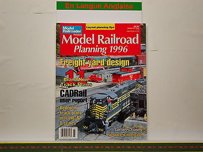 Livre MODEL RAILROADER - Model Rairoad Planning 1996 • 28€