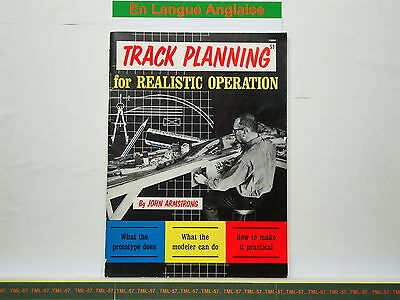 Livre MODEL RAILROADER - Track Planning For Realistic Operation - John Armstrong • 28€
