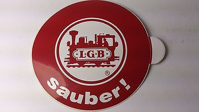 * Original LGB 8.5 Cm Diameter Sticker 01 - Sauber ! (PL) • 1.85€