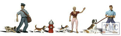 A2768 Woodland Scenics Painted Figures O People & Pets • 25.41€