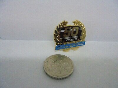 Scalextric Promotional Pin Badge  50 Years  Mint Unused New • 28.19€