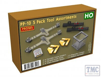 PPP-10 Proses 5 Pack Tool Assortments For HO • 108.46€