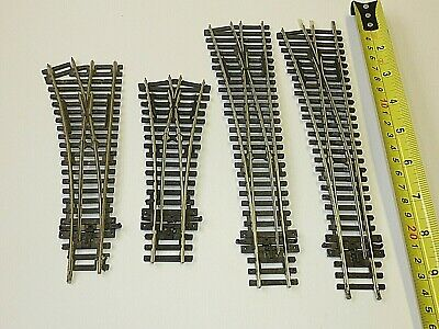 X4 Peco Points Inc Y Point VGC Ex Layout 00 Gauge Track Suit Hornby Etc OO • 30.16€