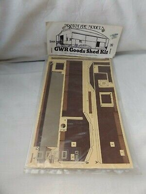 Prototype Bw13 Gwr Goods Shed Kit    N Gauge • 1.13€