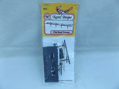 Kestrel Kd11 Flat Roof Canopy Kit Sealed    N Gauge • 1.13€