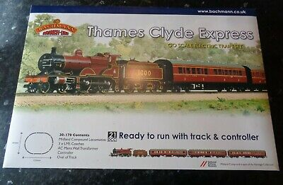 Bachmann 30-170 'Thames Clyde Express' Train Set Loco & Coaches Only • 221.68€