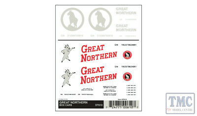 DT610 Woodland Scenics HO Scale Great Northern Box Cars • 8.18€