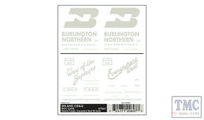 DT607 Woodland Scenics HO Scale BN, CB & Q Box - General Freight/Everywhere West • 6.15€