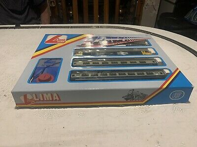 Lima L103408 Train Set With 50043 BReLL Blue + 2 Carriages-track & Transformer • 103.27€