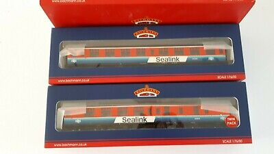 Bachmann 39-001K Sealink Mk1 Coach Pack Collectors Club Limited Edition • 140.33€