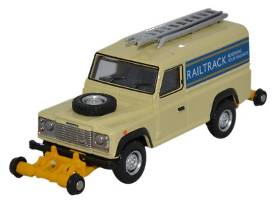 Oxford Rail OR76ROR001 Land Rover Defender 110 - Railtrack • 22.44€