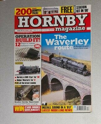 Hornby Magazine (The Waverley Route Issue 78) December 2013 Excellent Condition  • 7.87€
