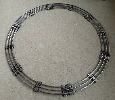 Used Hornby Series O Gauge Three 3 Rail Electric Complete Small Circle 6 Section • 52.04€