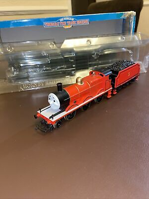 HORNBY-R852-JAMES-THE RED ENGINE-No.5-V/Good-DISCONTINUED-BOXED-PRO SERVICED • 195.96€