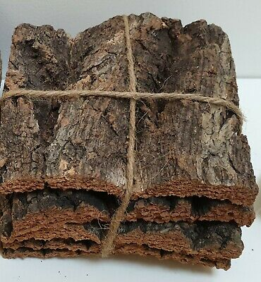 Cork Bark For Modelling - Pack Of 5 Pieces • 14.40€