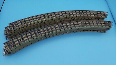 Hornby Dublo 3 Rail Curved Track - 12 Pack (Ref#13) • 17.33€