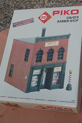 PIKO G 62219 - Kit De  David's Barber Shop - Por LGB - Escala 1:22,5 - Nuevo • 116.60€