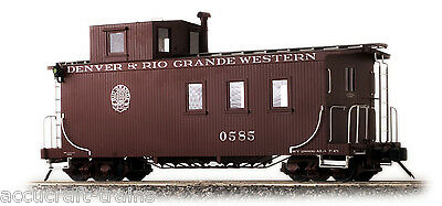Accucraft D&RGW Long Caboose, Peaked Roof, Messingmodell In 1:20.3, Neuware  • 529€