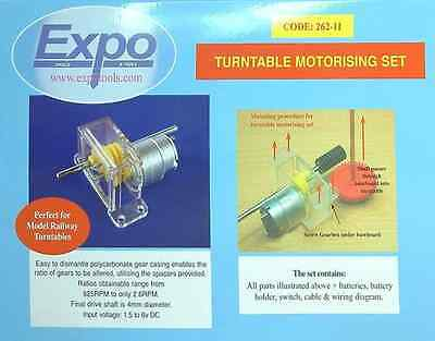 Turntable Motorising Kit - Expotools 26211 • 36.03€