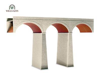 Three-Arch Viaduct - Oo / Ho Bâtiment – Wills SS80 • 41.24€