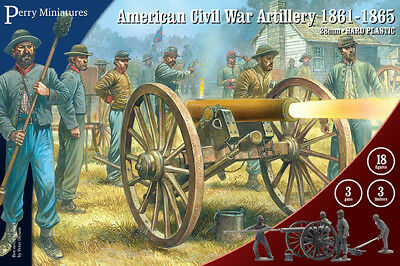 ACW 90 American Civil War Artillery - 28mm Figures Perry ACW90 • 25.69€