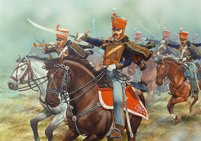 Napoleonic British Hussars - 28mm Mounted Figures X14 Perry BH80 • 25.98€