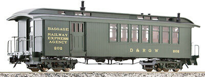 Accucraft AM54-021 D&RGW Combine Car, Green, 1:20.3 Scale, Different Numbers • 459€